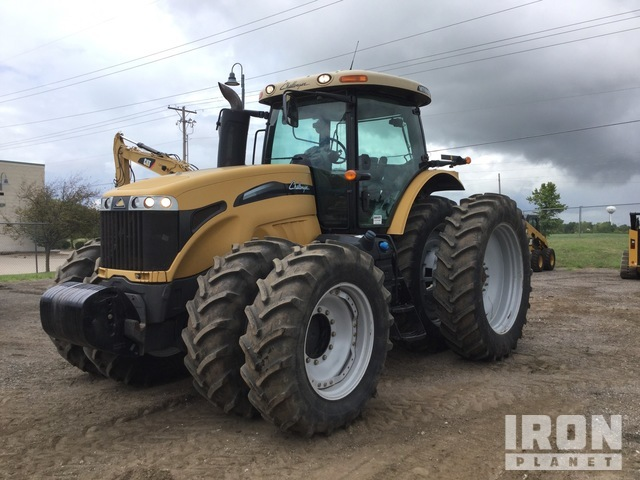 2012 Challenger MT685D 4WD Tractor, MFWD Tractor