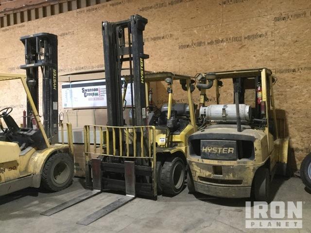 Hyster H90XMS 8550 lb Pneumatic Tire Forklift, Forklift