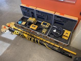 Laser- / GPS- / Lantmäteriutrustning