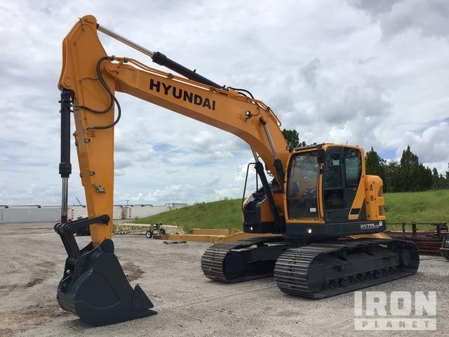 2017 (unverified) Hyundai HX235LCR Track Excavator, Hydraulic Excavator