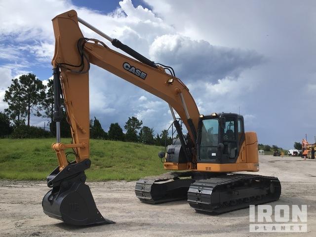 2012 Case CX235C Track Excavator, Hydraulic Excavator
