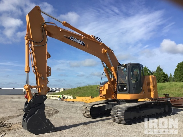 2012 Case CX225SR Track Excavator, Hydraulic Excavator