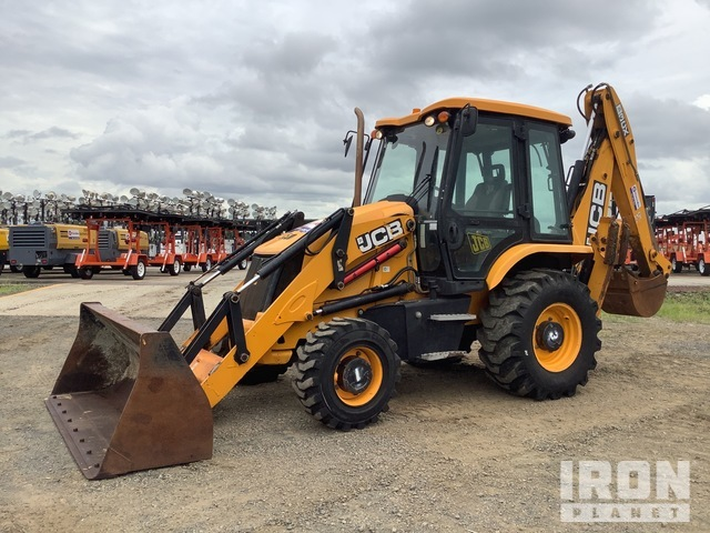 JCB 3CXTT 4x4 Backhoe Loader, Loader Backhoe