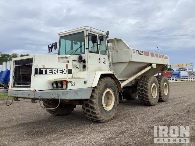 Terex TA25 Off-Road End Dump Truck, Rock Truck