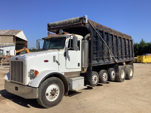 2007 Peterbilt 357 12x4 Five Axle Dump Truck
