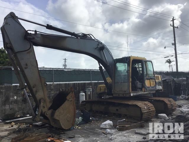 Volvo EC160BLC Track Excavator, Hydraulic Excavator