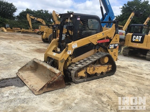 2014 Cat 259D Two-Speed Compact Track Loader, Compact Track Loader