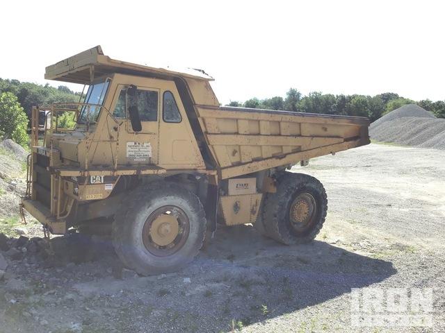 Cat 769C Off-Road End Dump Truck, Rock Truck