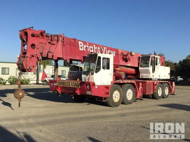 1993 Grove TM9120 Hydraulic Truck Crane w/2005 Nelson Boom Dolly, Hydraulic Truck Crane