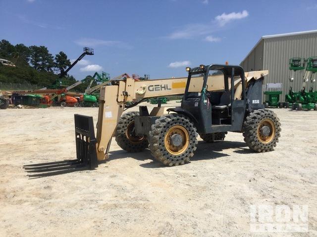 2011 Gehl RS6-42 4x4 6600 lb Telehandler, Telescopic Forklift