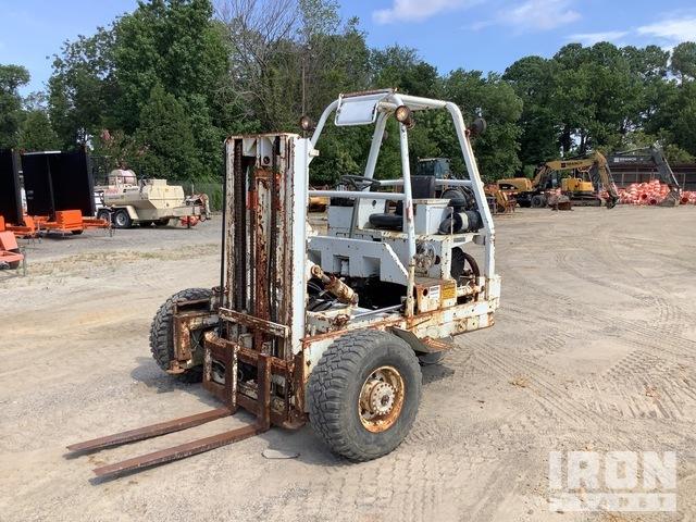 Teledyne Princeton D5000 5000 lb Truck Mounted Forklift, Rough Terrain Forklift
