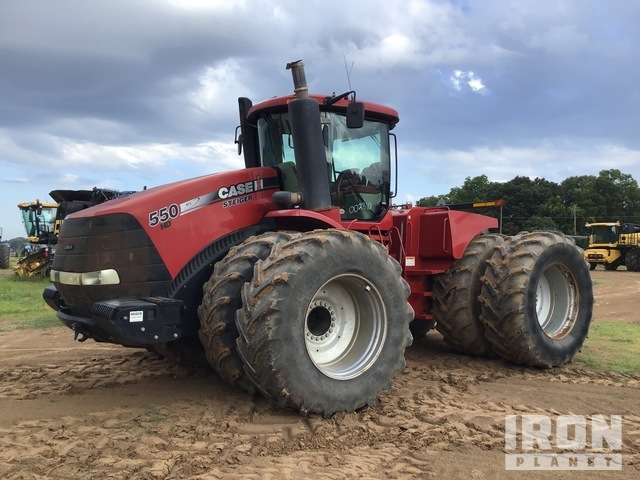 2013 Case IH Steiger 550HD 4WD Articulated Tractor, 4WD Tractor