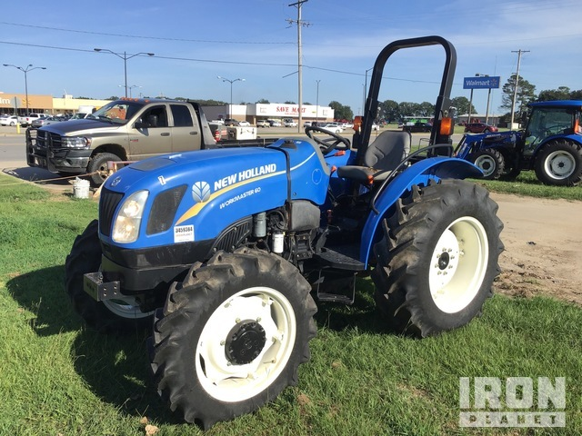 2016 (unverified) New Holland WM60 4WD Tractor, MFWD Tractor
