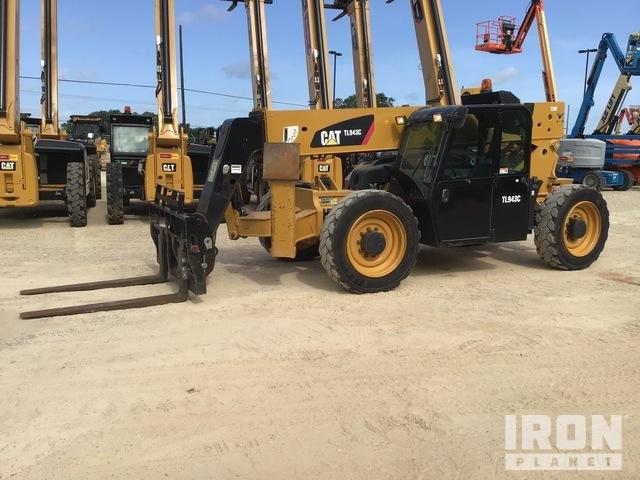 2015 JLG/Cat TL943C 4x4 9000 lb Telehandler, Telescopic Forklift