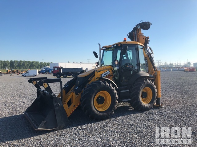 2018 JCB 4CX Piling-Master 4x4 Backhoe Loader, Loader Backhoe