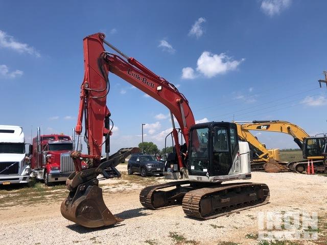 2013 Link-Belt 145X3 Track Excavator, Hydraulic Excavator