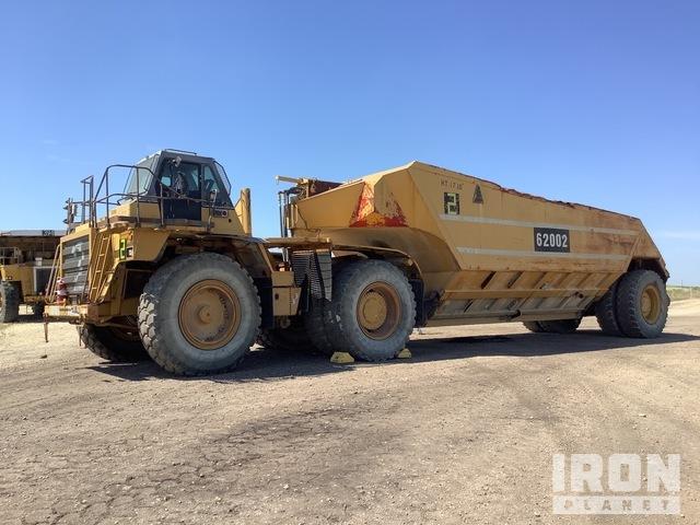 Cat 776D Off-Road End Dump Truck, Rock Truck