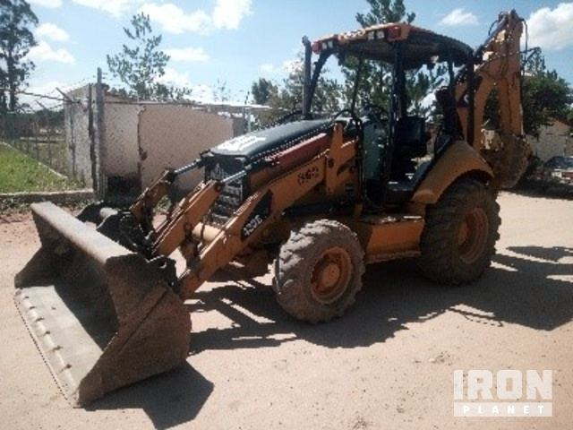 2011 Cat 420E 4x4 Backhoe Loader, Loader Backhoe