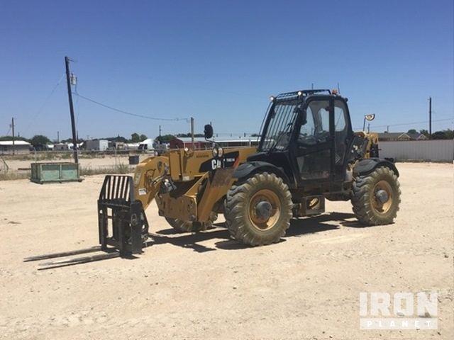 2012 Cat TH514 4x4 11020 lb Telehandler, Telescopic Forklift