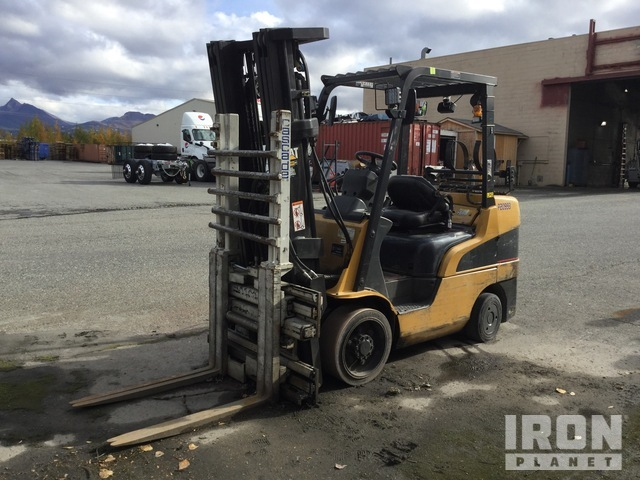 2007 Cat C6500 4800 lb Cushion Tire Forklift, Parts/Stationary Construction-Other