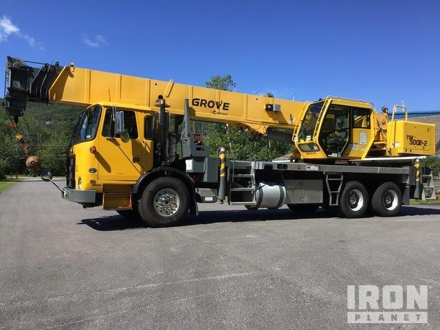 2012 Grove TM500E-2 45 ton Hydraulic Truck Crane, Hydraulic Truck Crane