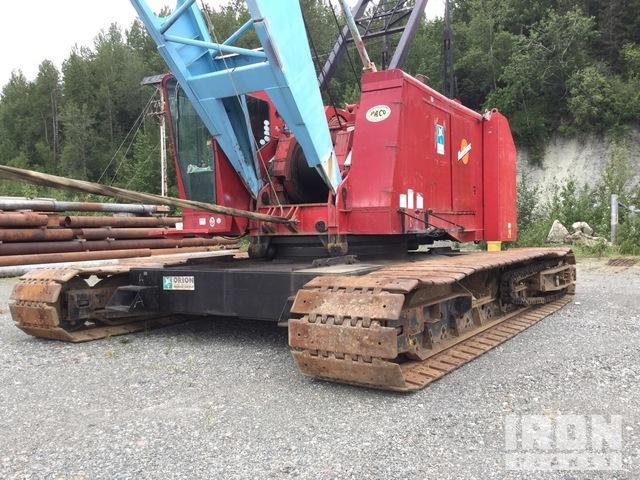 1981 Manitowoc 4100W Series 1 & 2 230 Ton Lattice-Boom Crawler Crane, Crawler Crane