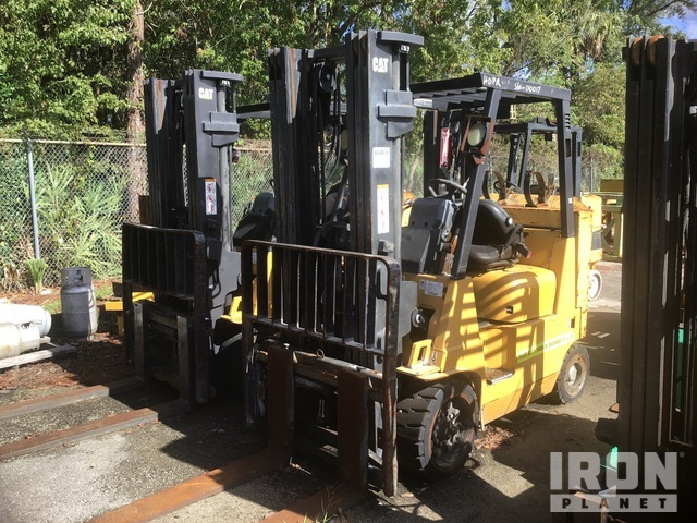 Cat GC40KSTR Cushion Tire Forklift, Parts/Stationary Construction-Other