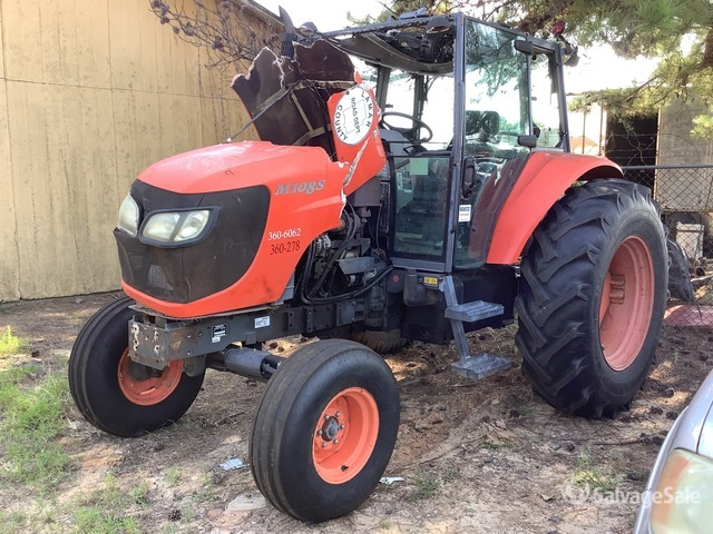 2010 (unverified) Kubota M108S 2WD Tractor, Parts/Stationary Construction-Other