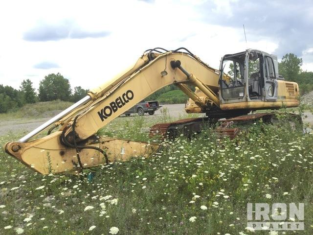 2003 Kobelco SK330LC Track Excavator, Hydraulic Excavator