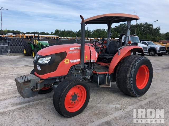 2014 (unverified) Kubota M6060 2WD Tractor, 2WD Tractor