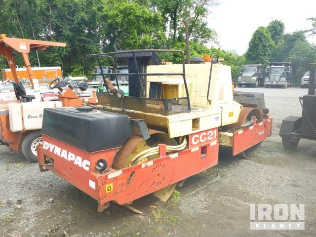 Dynapac CC21 Series II Vibratory Double Drum Roller, Parts/Stationary Construction-Other