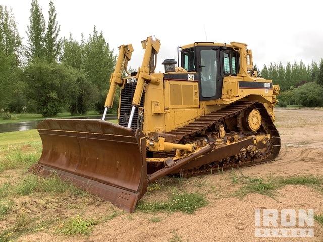 Cat D8R II Crawler Dozer, Crawler Tractor