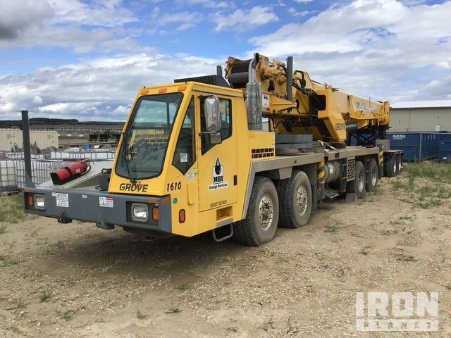 2005 Grove TMS 800E (848OGE) 4-Axle Mobile Crane, Hydraulic Truck Crane