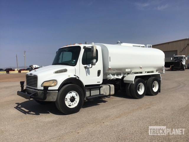 2006 freightliner m2 6x4 water truck in el paso texas united states ironplanet europe item 3941589 ironplanet europe