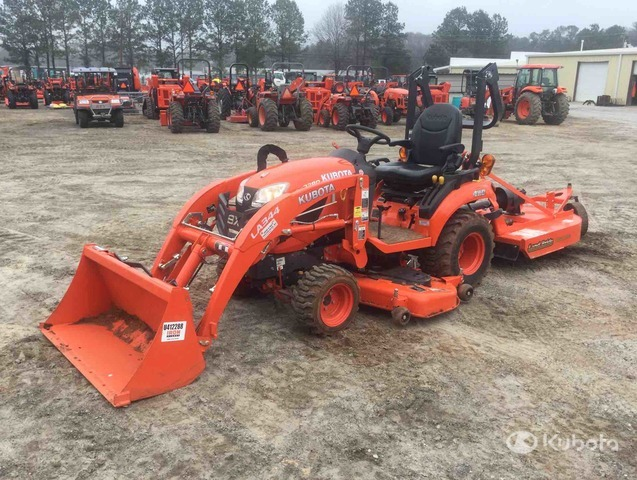 2019 Kubota BX2380 4WD Tractor, MFWD Tractor