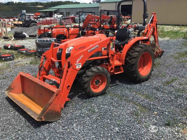 Kubota L3901D 4WD Tractor, MFWD Tractor