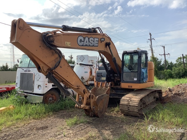 2014 Case CX235C Track Excavator, Hydraulic Excavator