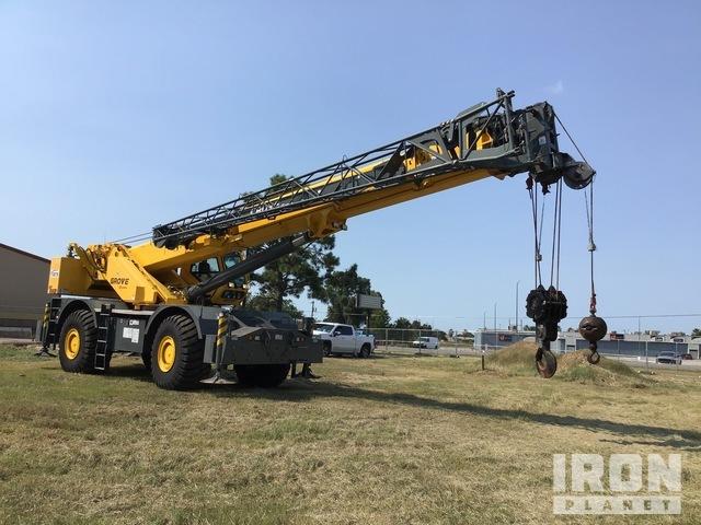 2014 Grove RT880E 4x4 Rough Terrain Crane, Rough Terrain Crane