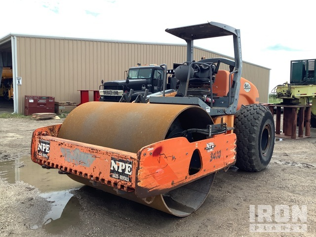 2008 Hamm 3410 Vibratory Single Drum Compactor, Vibratory Padfoot Compactor