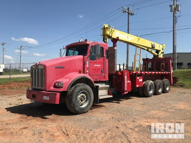 2006 Kenworth 3/A Hydraulic Crane Truck, Hydraulic Truck Crane