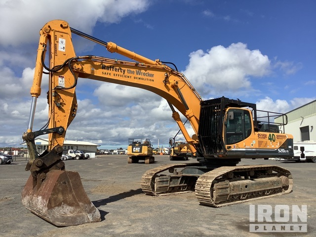 2011 Hyundai Robex 520LC-9 Track Excavator, Hydraulic Excavator