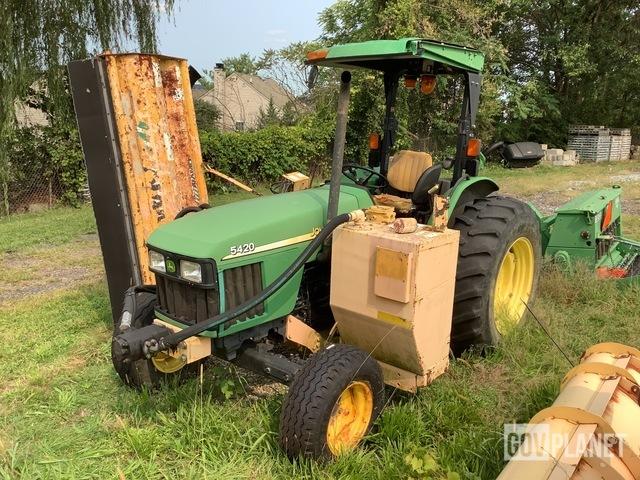 2003 John Deere 5420 Mower Tractor, Mower Tractor