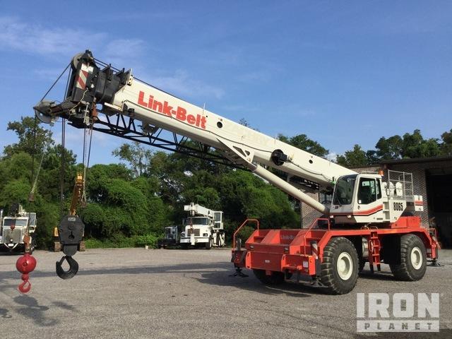 2014 Link-Belt RTC8065 65 Ton 4x4 Rough Terrain Crane, Rough Terrain Crane