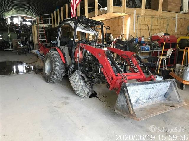 2018 (unverified) Rural King RK37SC 4WD Tractor, MFWD Tractor