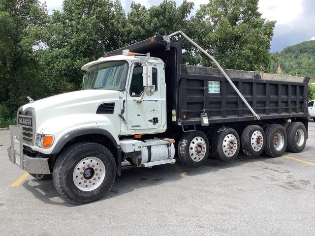 2005 Mack CV713 12x4 Five Axle Dump Truck