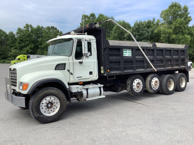 2006 Mack CV713 10x4 Quad/A Dump Truck