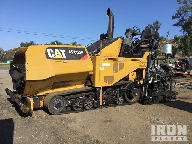 2017 Cat AP655F Track Asphalt Paver, Asphalt Paver