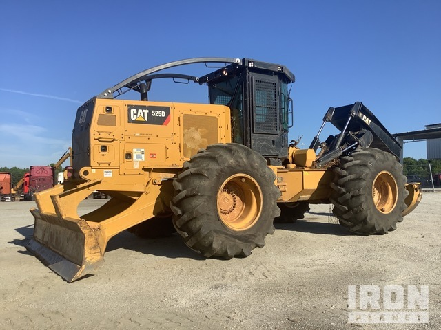 2019 (unverified) Cat 525D 4x4 Wheel Skidder, Skidder