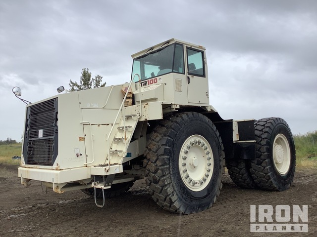 2010 Terex TR100 Articulated Dump Truck, Articulated Dump Truck