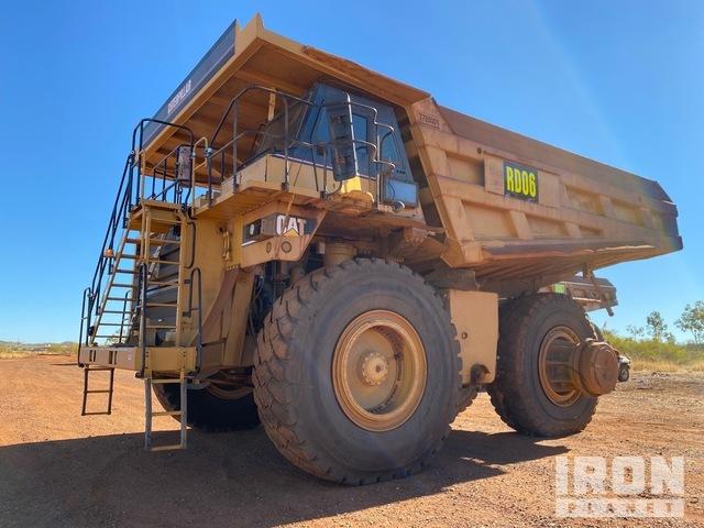 2006 Cat 785C Off-Road End Dump Truck, Rock Truck